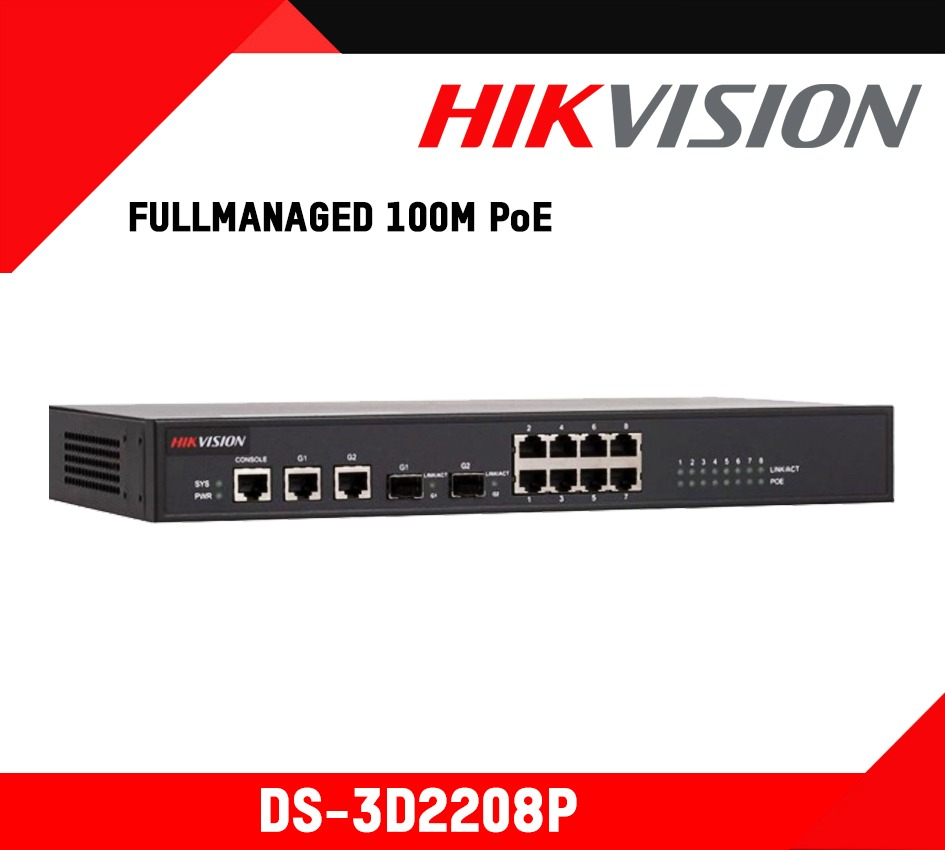 Hikvision Full Managed 100M PoE Switch